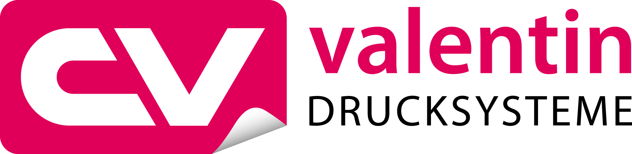 Logotipo de Carl Valentin Drucksysteme