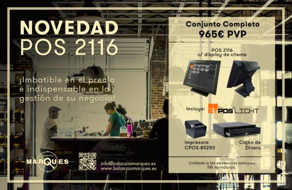 Campaña Conjunto TPV POS 2116